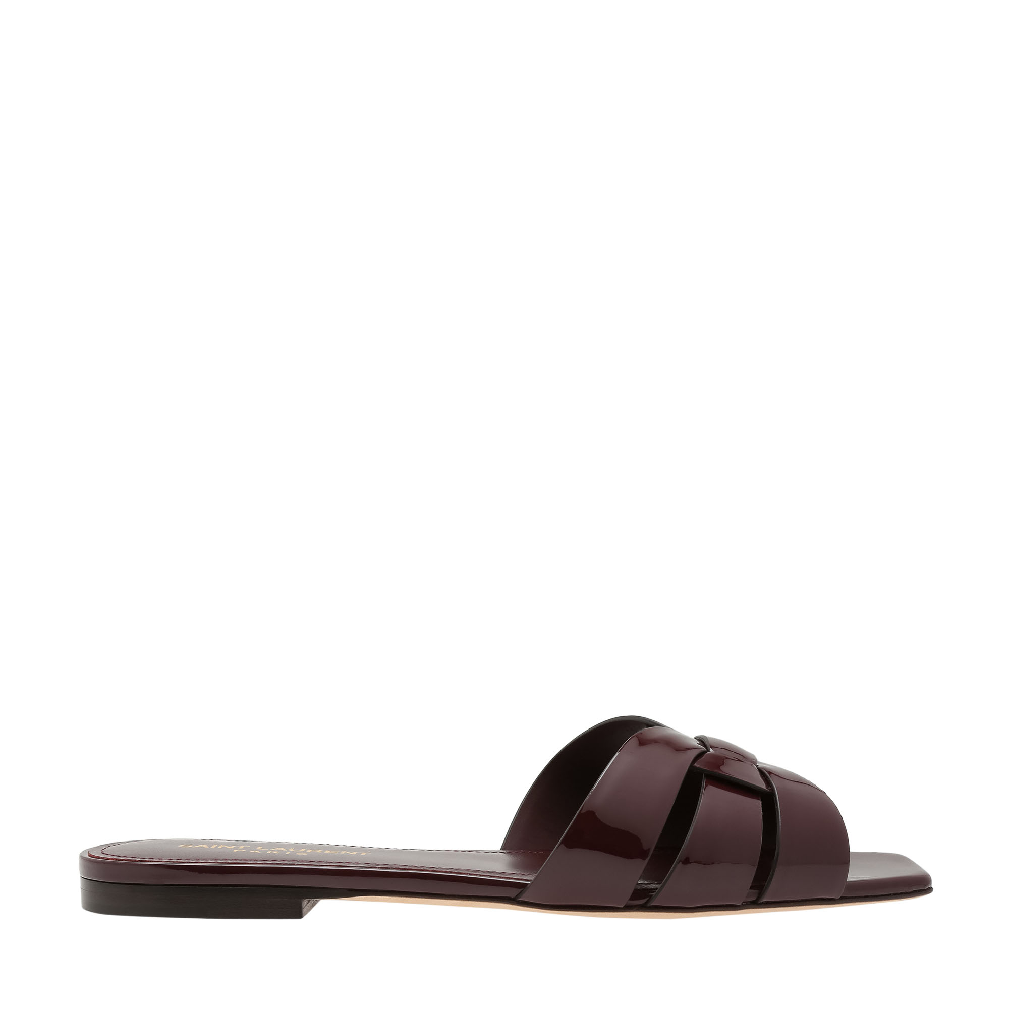 Tribute leather flat sandals