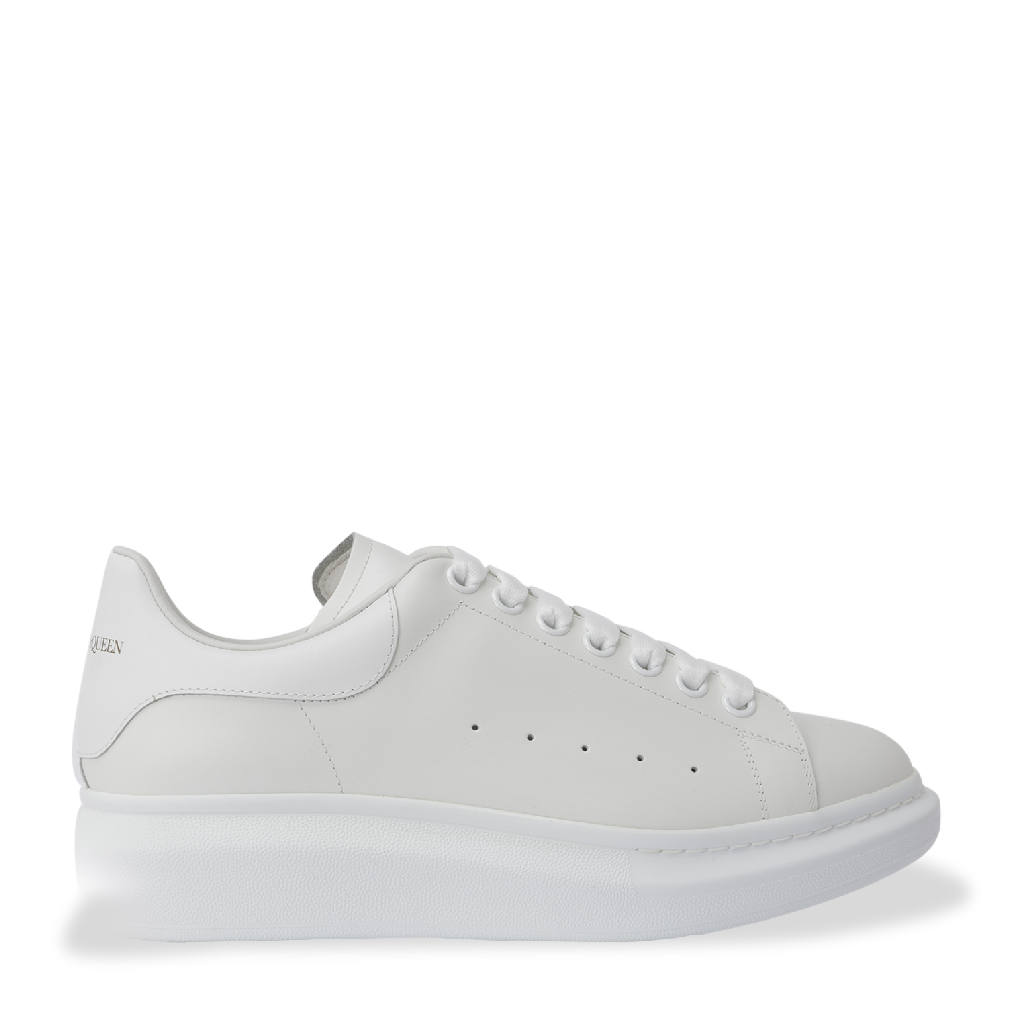 Oversized leather sneakers