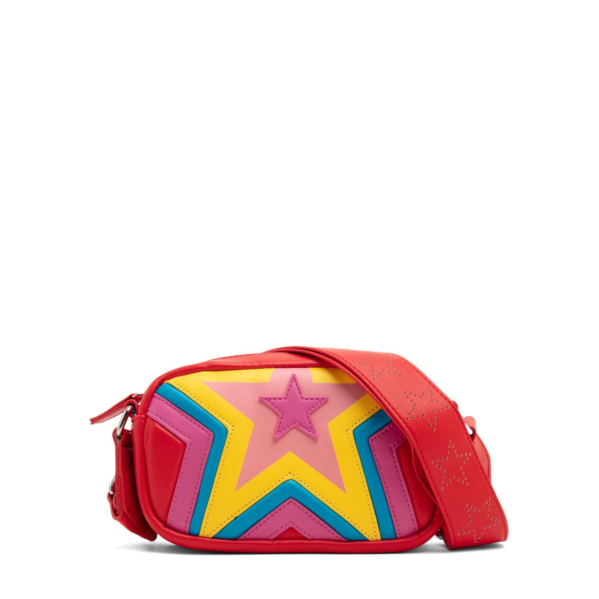 Quilted star shoulder bag