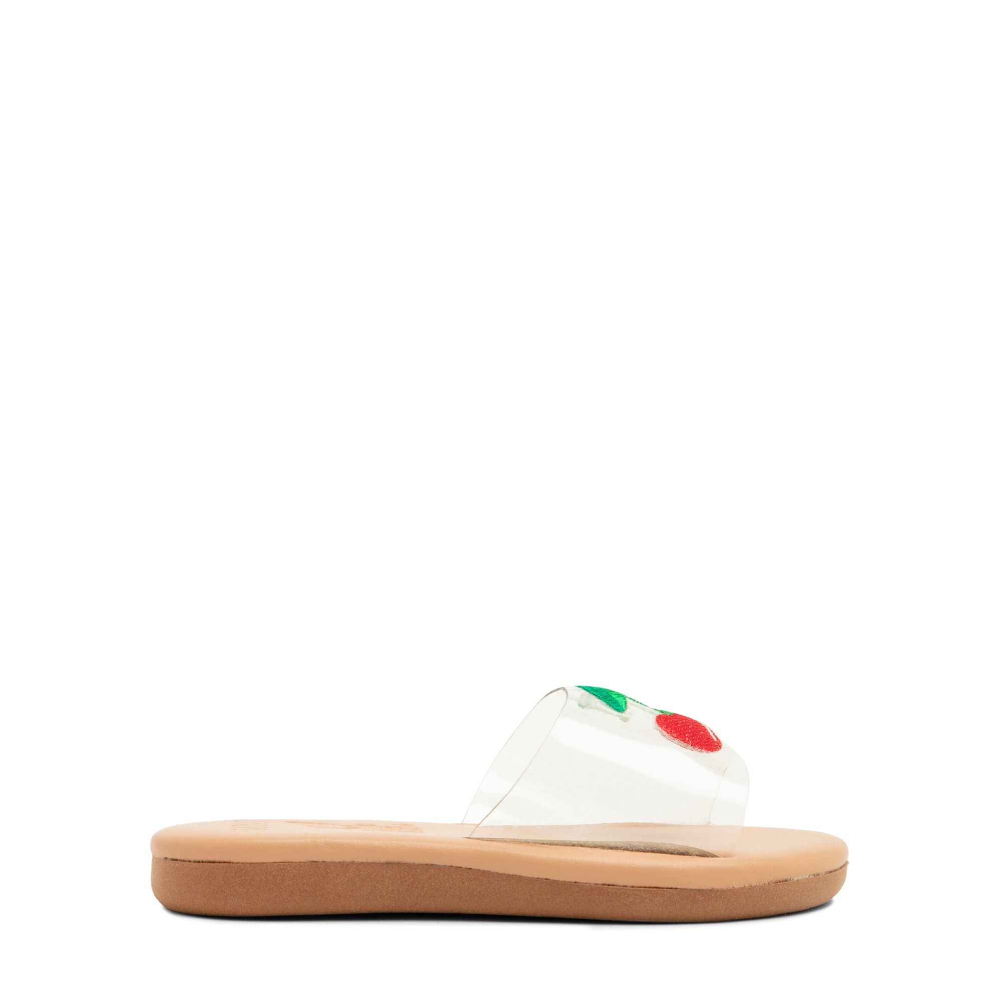 Exclusive Little Taygete cherry sandals