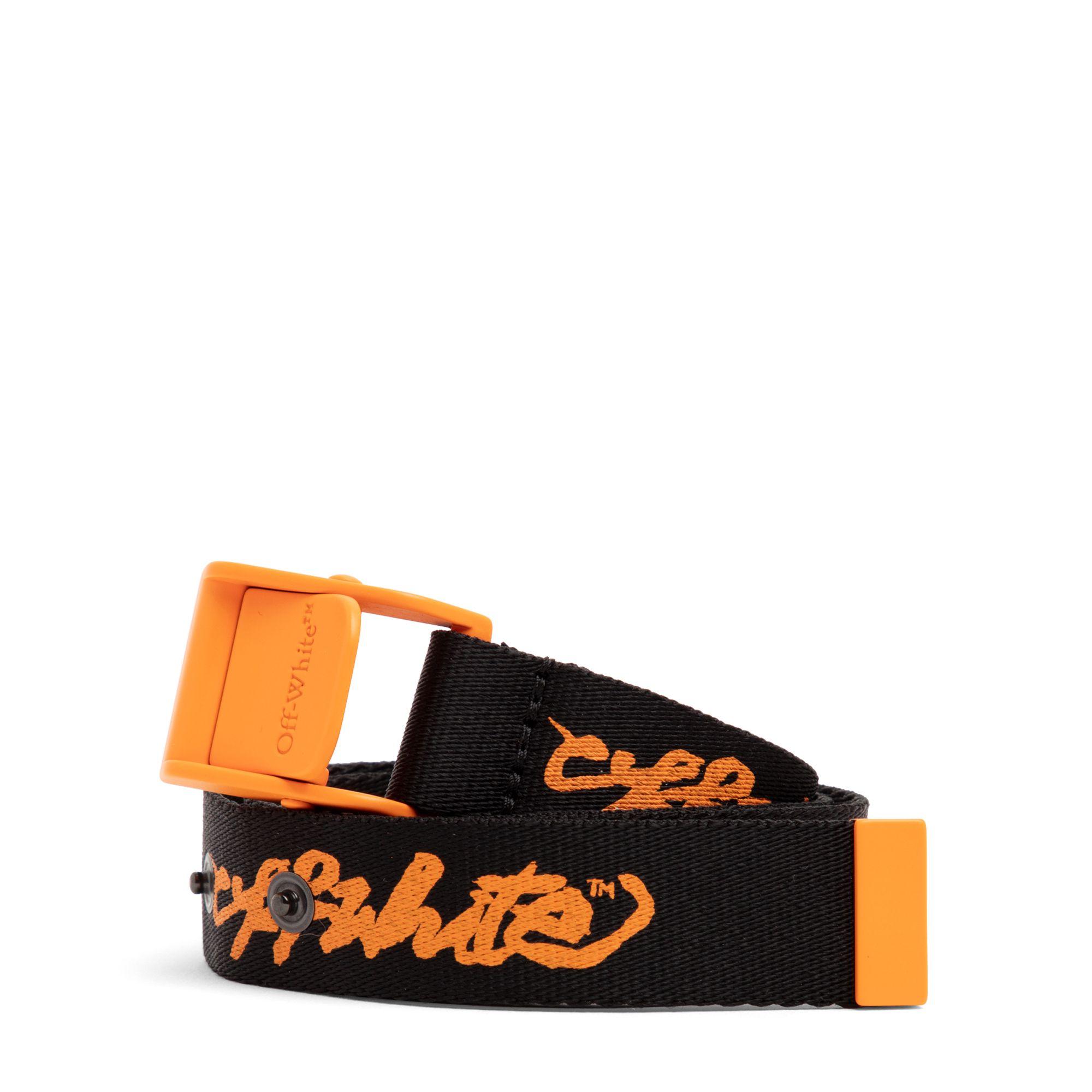Script Logo belt