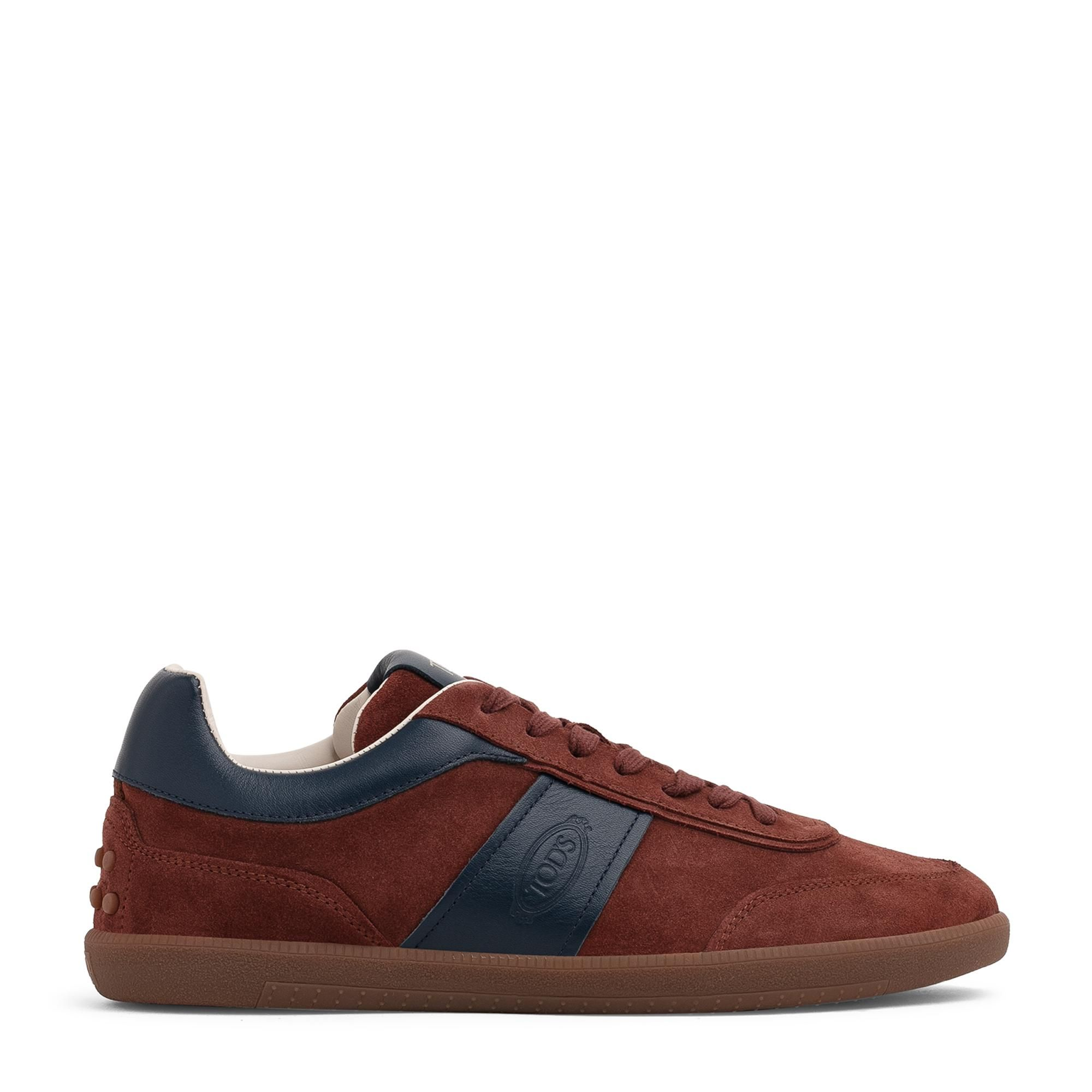Tabs leather sneakers