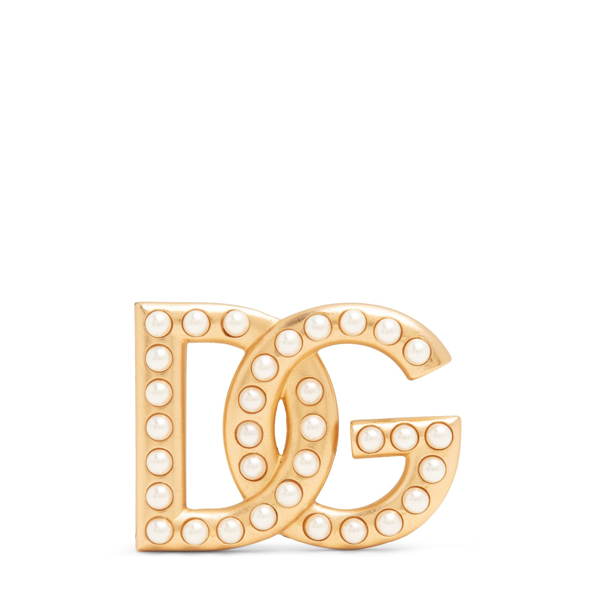 DG logo brooch
